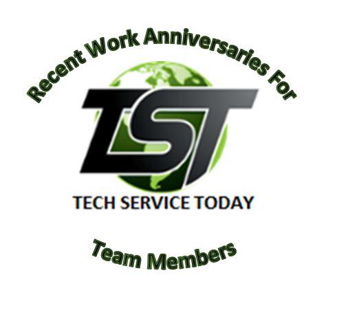 Celebrating TST Team Member Work Anniversaries